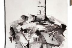 Kein schöner Land - Altgodesberg #288 - Öl auf Lehrmittel-Leinwand 80x120cm : 580 Euro